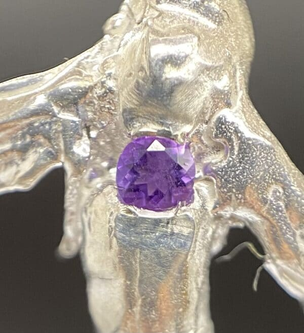 CU of Cleopatra with Amethyst