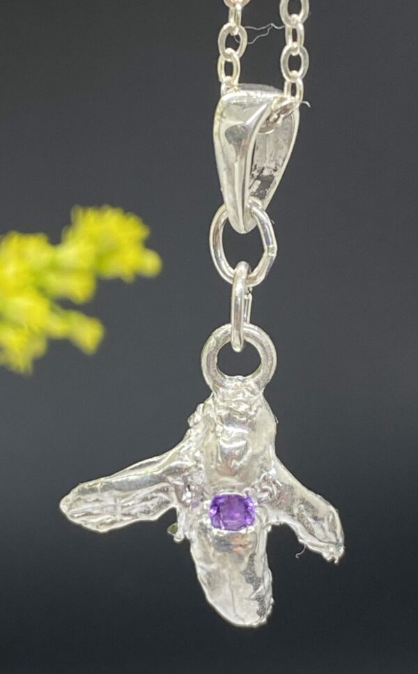 Cleopatra pendant with Amethyst